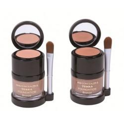 Skin Concealer & Terra Foundation Bronze - JIMONT